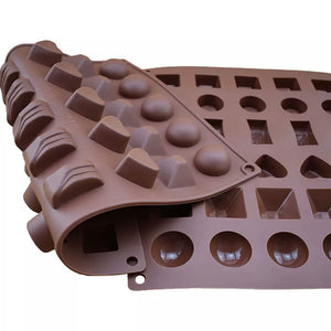 6 DESIGNS 30 PCS CHOCOLATE MOULD