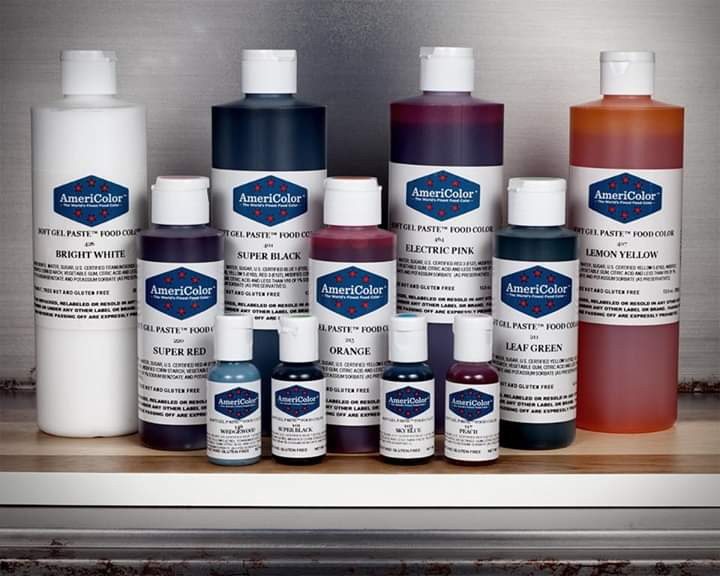 AMERICOLOR GEL COLOURS