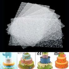Load image into Gallery viewer, FONDANT EMBOSSER FLOWER IMPRINTS SET 6 Pcs {CLEAR}
