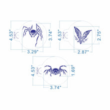 Load image into Gallery viewer, HALLOWEEN SPIDERS THEMED STENCIL SET