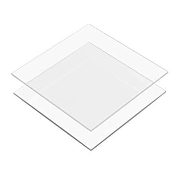 SQUARE ACRYLIC DISC SET - 6 INCH