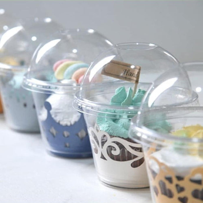 SINGLE CUPCAKE HOLDERS (DOMED)