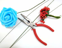Load image into Gallery viewer, SHORT NOSE FLORAL WIRE PLIERS