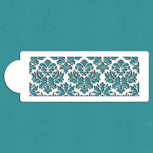 DAMASK LACE STENCIL LARGE PATTERN