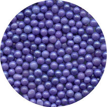 Load image into Gallery viewer, EDIBLE PURPLE SUGAR PEARLS 15 GMS