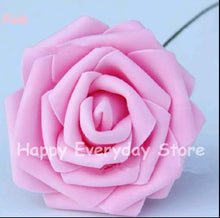 Load image into Gallery viewer, ARTIFICIAL ROSE FLOWER 8CM HEAD 10PCS SET