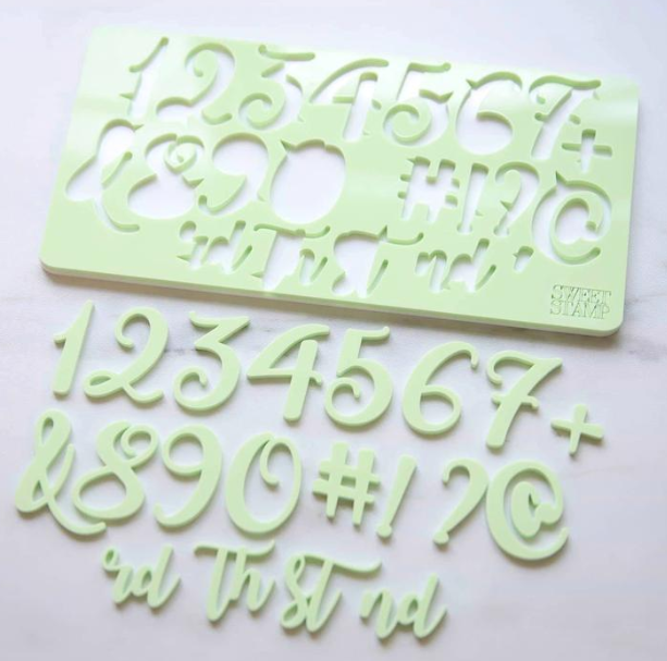 SWEET STAMP - CURLY SET