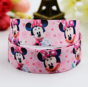 MINNIE MOUSE RIBBON PINK (2.2 CM)