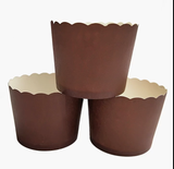 PLAIN MINI CUPCAKE CUPS/CASES 50 PCS (STAND ALONE)