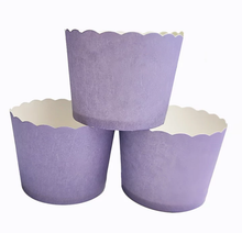 Load image into Gallery viewer, PLAIN MINI CUPCAKE CUPS 50 PCS (STAND ALONE)