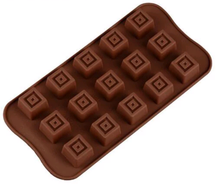 Load image into Gallery viewer, SQUARE CENTER CHOCOLATE MOULD