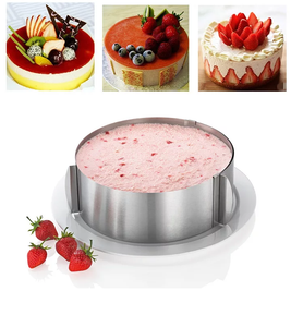 ADJUSTABLE MOUSSE CAKE RING/MOULD  6 -12 INCHES
