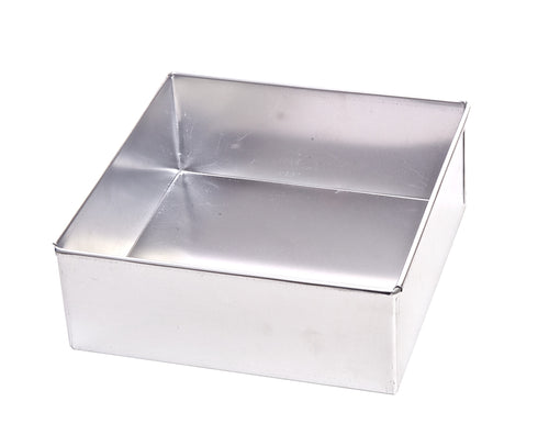 SQUARE ALUMINIUM BAKING TINS (JUA KALI /LOCAL)