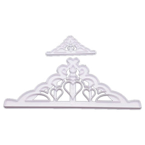 TIARA CUTTER 2PC SET