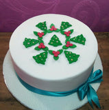 FONDANT (READY MADE) CHRISTMAS TOPPERS