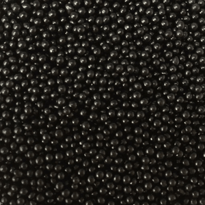 EDIBLE BLACK SUGAR PEARLS 15G