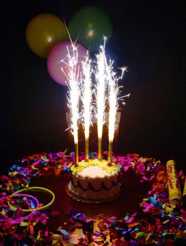 SPARKLING/FIREWORKS BIRTHDAY CANDLES