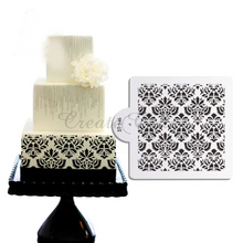Load image into Gallery viewer, DAMASK STENCIL SQUARE MINI
