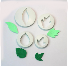 Load image into Gallery viewer, ASSORTED LEAVES CUTTER SET 4PCS