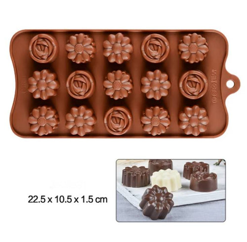 ROSES & DAISIES CHOCOLATE MOULD