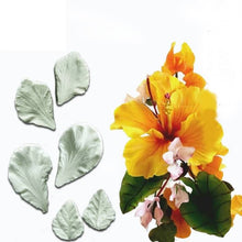 Load image into Gallery viewer, MINI HIBISCUS FLOWER VEINER SET
