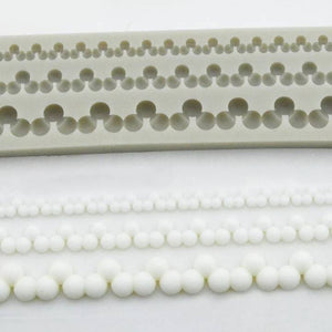 PEARLY DROPS BORDER MOLD 2 PCS (LONG)