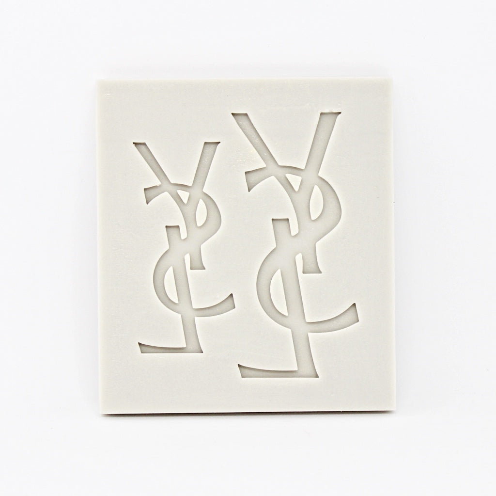YVES SAINT LAURENT LOGO MOULD SET 2PCS