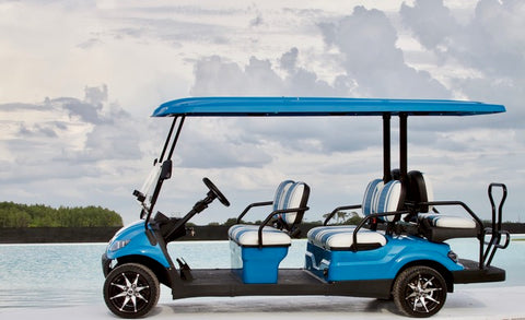 ICON i60 Carribean Blue - Bayside Custom Carts