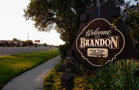 Welcome to Brandon Sign - Credits Photo News 247