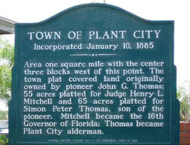 Town of Plant City Sign