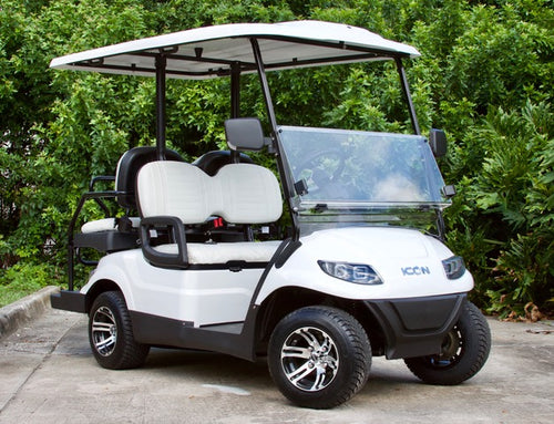 ICON i40 - Arctic White with White Seats - $7,595