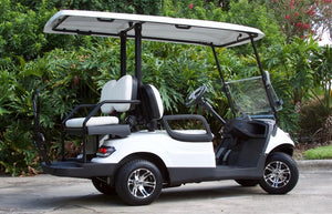 ICON i40 - Arctic White with White Seats - $8,100