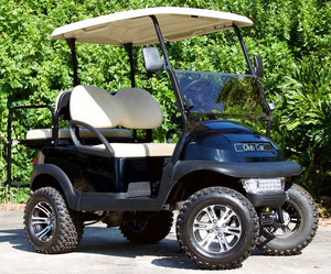 Club Car Precedent Black w/ Tan Seats - Lifted - $6,300