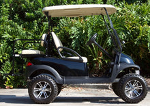 Load image into Gallery viewer, Club Car Precedent Black w/ Tan Seats - Lifted - $6,300