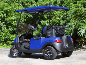 Club Car Precedent Electric Blue w/ Two Tone Seats - $5,800