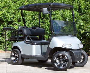 EZGO RXV Silver with Black Seats - $7,800