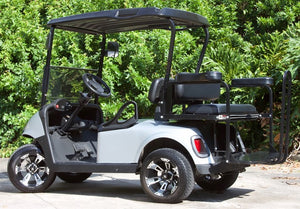 EZGO RXV Silver with Black Seats - $6,300