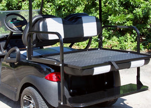 Club Car Precedent Black w/ Two Tone Seats - $7,100