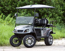 "Load image into Gallery viewer, EZGO TXT ""Titan"" Graphite with Two Tone Seats - Lifted - $7,000"