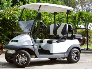 Club Car Precedent White w/ Two Tone Seats - $5,500