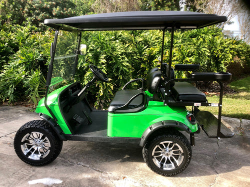 EZGO TXT Lime Green with Black Seats - Lifted - $8,100