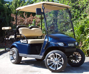 EZGO TXT Dark Blue w/ Tan Seats - $5,900