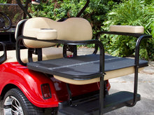 "Load image into Gallery viewer, EZGO TXT ""Titan"" Red w/ Tan Seats - $7,400"