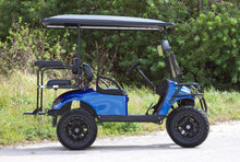 Load image into Gallery viewer, EZGO TXT Electric Blue with Black Seats - Lifted - $6,900