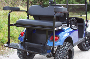 EZGO TXT Electric Blue with Black Seats - Lifted - $6,900