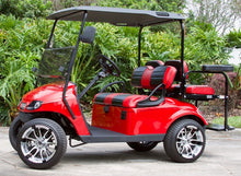 Load image into Gallery viewer, EZGO TXT Red w/ Two Tone Seats - $6,100