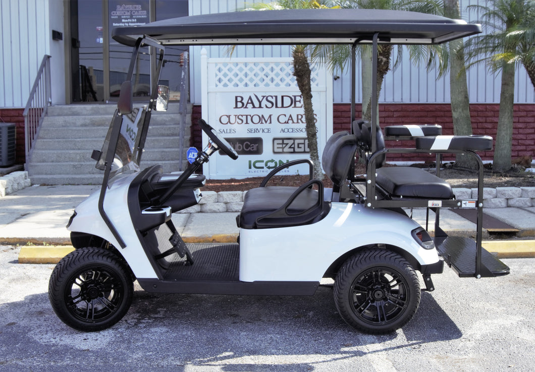 EZGO TXT White w/ Black Seats - $6,300