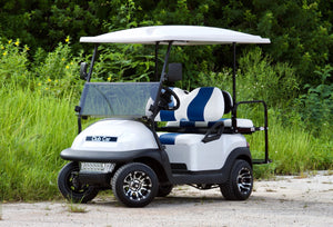 Club Car Precedent Pearl White w/ Two Tone Seats - $5,800