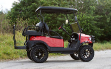 "Load image into Gallery viewer, Club Car Precedent ""Alpha"" Red w/ Black Seats - Lifted - $7,900"