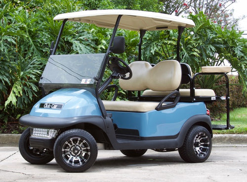 Club Car Precedent Sky Blue w/ Tan Seats - $5,300